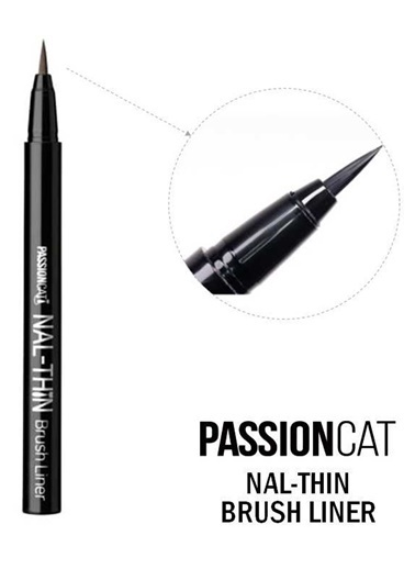 Passion Cat Passıoncat Nal-Thın Brush Lıner Siyah